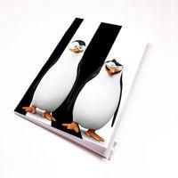 "Блокнот ""Пингвины Мадагаскара"" (А5; арт. 405)"
