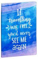 """Обложка на паспорт """"Free travelling"""""""