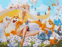 "Картина по номерам ""Блондинка"" (600х800 мм)"