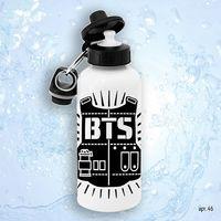 "Бутылка для воды ""BTS. Logo"" (600 мл; арт. 046)"