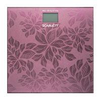 Напольные весы Scarlett SC-217 (розовые)