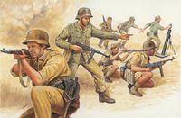"""Набор миниатюр """"Африканский корпус"""" (масштаб: 1/72)"""