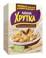 """Подушечки """"Nestle. Хрутка"""" (250 г; с шоколадной начинкой)"""