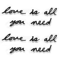 "Надпись декоративная на стену ""Love Is All You Need"""