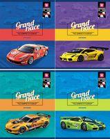 """Тетрадь в клетку """"Grand Race"""" 48 листов"""