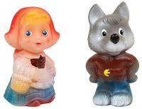 """Набор игрушек для купания """"Красная Шапочка и волк"""" (2 шт)"""