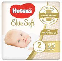 """Подгузники """"Elite Soft 2"""" (4-6 кг; 25 шт.)"""