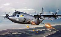 "Тяжеловооруженный самолет ""AC-130H Spectre"" (масштаб: 1/72)"