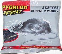 """Приманка для крыс и мышей """"Рубигон"""" зерновая (200 г)"""