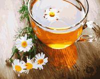"""Картина по номерам """"Ромашковый чай"""" (400х500 мм)"""