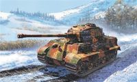 """Тяжелый танк """"King Tiger"""" (масштаб: 1/72)"""