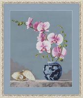 """Вышивка крестом """"Розовая орхидея"""" (арт. СЖ-024)"""