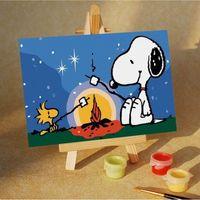 "Картина по номерам ""Ночной пикник"" (100x150 мм; арт. МA006)"