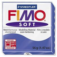"""Глина полимерная """"FIMO Soft"""" (блестящий синий; 56 г)"""