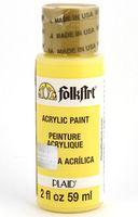 "Краска акриловая ""FolkArt. Acrylic Paint"" (утреннее солнце; 59 мл; арт. PLD-00317)"