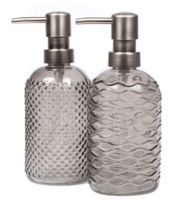 Дозатор для жидкого мыла (серый)