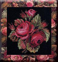 """Вышивка крестом """"Розы"""" (арт. С069)"""
