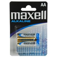Батарейка AA LR06 Maxell алкалайновая (2 штуки)