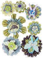 """Стикеры для скрапбукинга """"Мир растений. Растительные медальоны"""""""