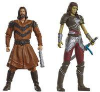 "Набор фигурок ""Warcraft. Гарона и Лотар"" (7 см)"