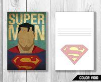 """Открытка №834 """"Супермен"""""""