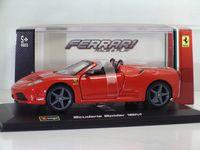 "Модель машины ""Bburago. Ferrari Scuderia Spider 16M"" (масштаб: 1/32)"