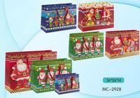 """Пакет бумажный подарочный """"С Новым Годом"""" (в ассортименте; 36x26x14 см; арт. МС-2928)"""