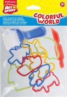 """Набор формочек для лепки """"Colorful World"""""""