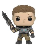 """Фигурка """"Gears of War. Джей Ди с пылающим оружием"""""""