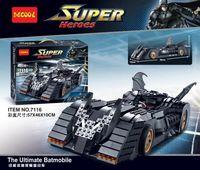 """Конструктор """"Super Heroes. Легковой автомобиль"""" (1045 деталей)"""
