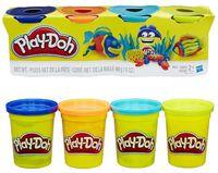 """Тесто для лепки """"Play-Doh"""" (4 цвета)"""