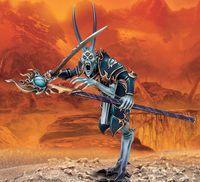 """Миниатюра """"Warhammer FB. Chaos Tzeentch Sorcerer Lord"""" (83-34)"""