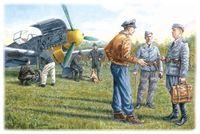 """Набор миниатюр """"Наземный персонал ВВС Германии 1939-45 г."""" (масштаб: 1/48)"""