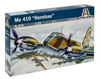 """Сборная модель """"Тяжелый истребитель-бомбардировщик Me 410 """"Hornisse"""" (масштаб: 1/72)"""