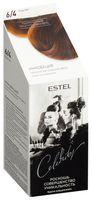 "Краска-уход для волос ""Estel Celebrity"" (тон: 6.4, каштан)"