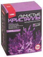 """Набор для выращивания кристаллов """"Лучистые кристаллы. Фиолетовый"""""""