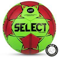 """Мяч гандбольный Select """"Mundo"""" №2 (зеленый/красный/черный)"""