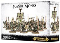 Warhammer Age of Sigmar. Skaven Pestilens. Plague Monks (90-12)