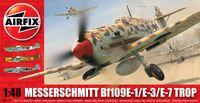 "Истребитель ""Messerschmitt Bf109E-1/E-3/E-7 Trop"" (масштаб: 1/48)"