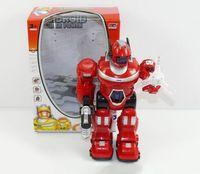 Робот-трансформер (со звуковыми и световыми эффектами; арт. 824069-KD-8801A)
