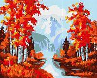 "Картина по номерам ""Осень в горах"" (400х500 мм)"
