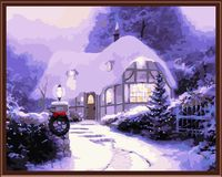 "Картина по номерам ""Канун рождества"" (400х500 мм)"