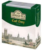 """Чай черный """"Ahmad Tea. Эрл Грей"""" (100 пакетиков)"""