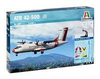 """Сборная модель """"Двухмоторный турбовинтовой самолет ATR 42-500"""" (масштаб: 1/144)"""