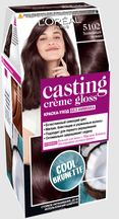 """Краска-уход для волос """"Casting Creme Gloss"""" тон: 5102, холодный мокко"""