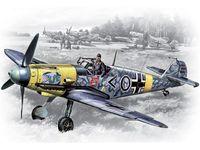 Германский истребитель Bf 109 F-2 (масштаб: 1/48)