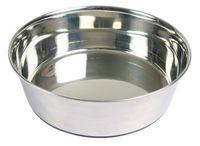 Миска для собак металлическая (1 л)