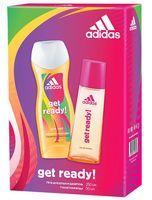 """Подарочный набор """"Adidas. Get ready!"""" (туалетная вода; гель для душа)"""