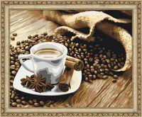 """Картина по номерам """"Аромат кофе"""" (400х500 мм)"""