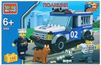 """Конструктор """"Полиция. Полицейский джип"""" (144 детали)"""